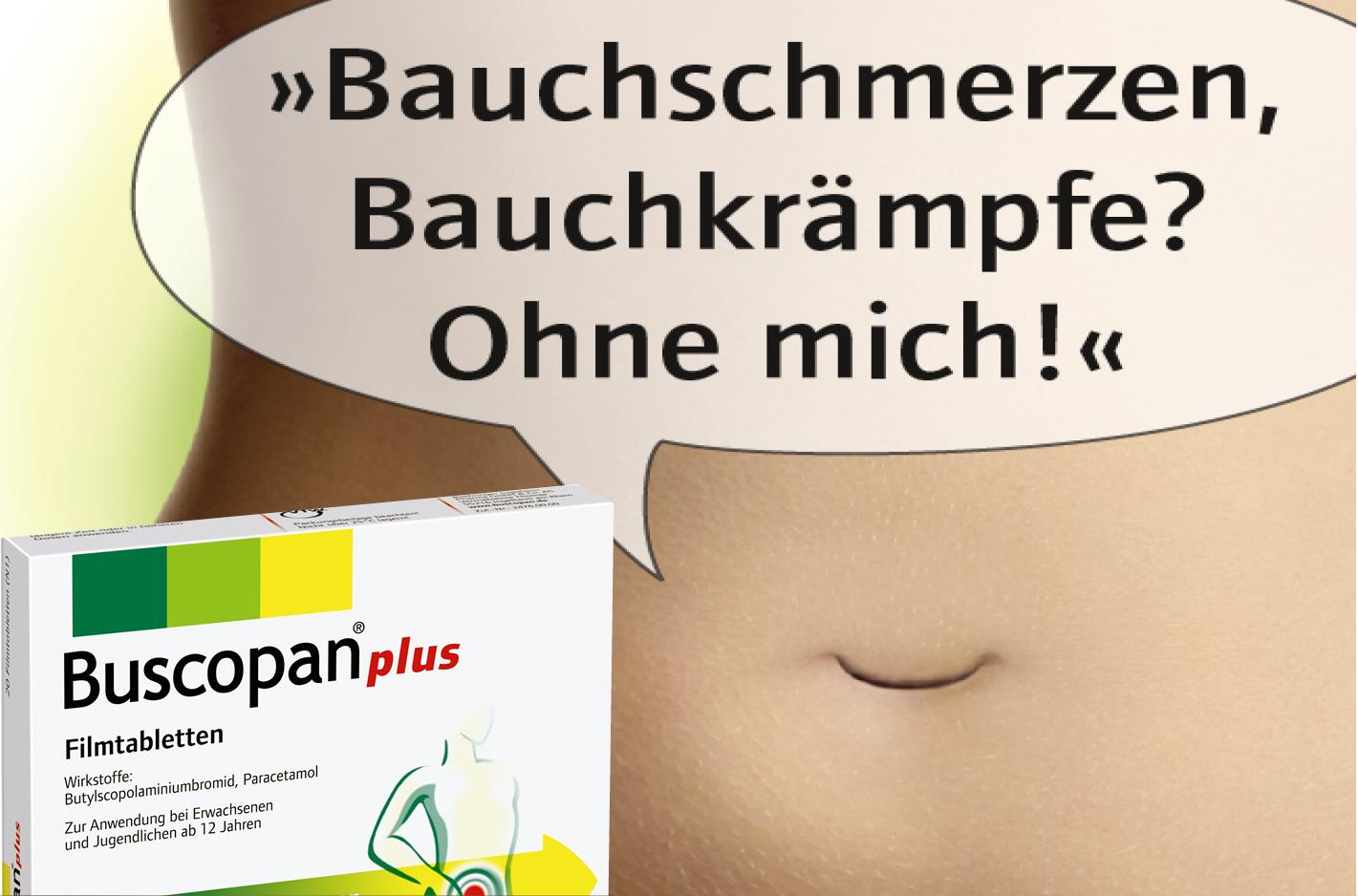 Boehringer Ingelheim – Buscopan Consumer-Anzeige